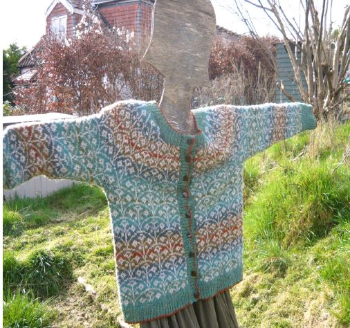 Flower Beds Cardigan Kit