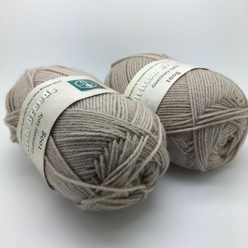British Breeds Guernsey Yarn - Pack of Fawn