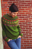 Cactus Pullover by Kate Jackson Knits