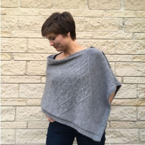 Diamond Poncho Kit by Deborah Cowell