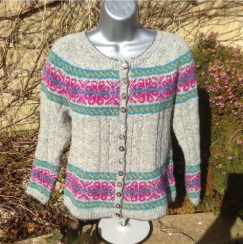 Jewel Cardigan by Deborah Cowell