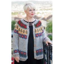 Nordic Cardigan Kit by Deborah Cowell