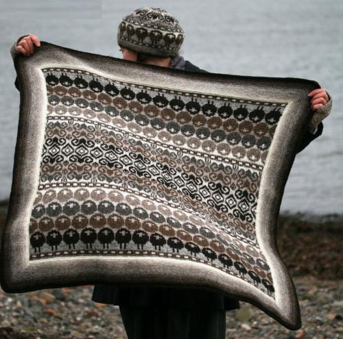 Rams and Yowes Blanket by Kate Davies, Yarn Pack