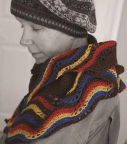 Heritage Hap Pattern by Mary the Knitter